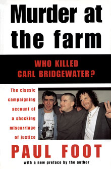 Cover of Murder at the Farm written by Paul Foot