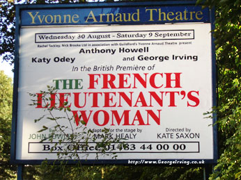 Yvonne Arnaud Theatre Guildford - George Irving