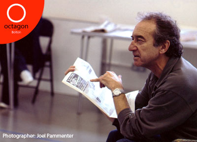 George Irving in rehearsals for All My Sons at Bolton Octagon 2009