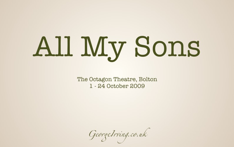 All My Sons - George Irving