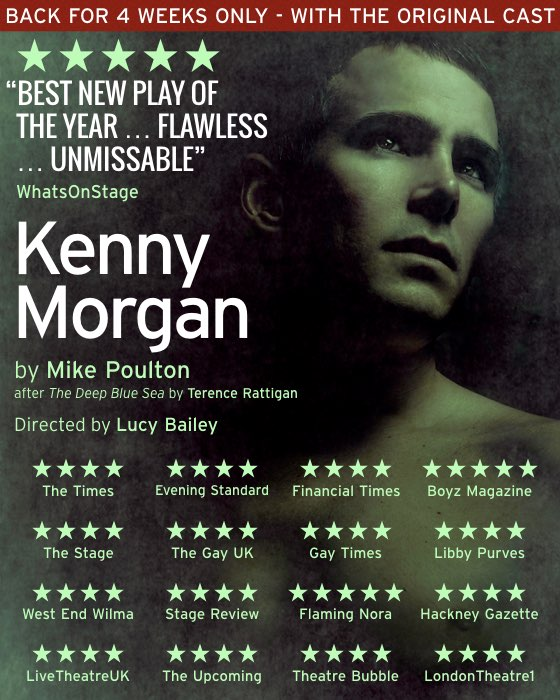 Kenny Morgan - Arcola Theatre - George Irving